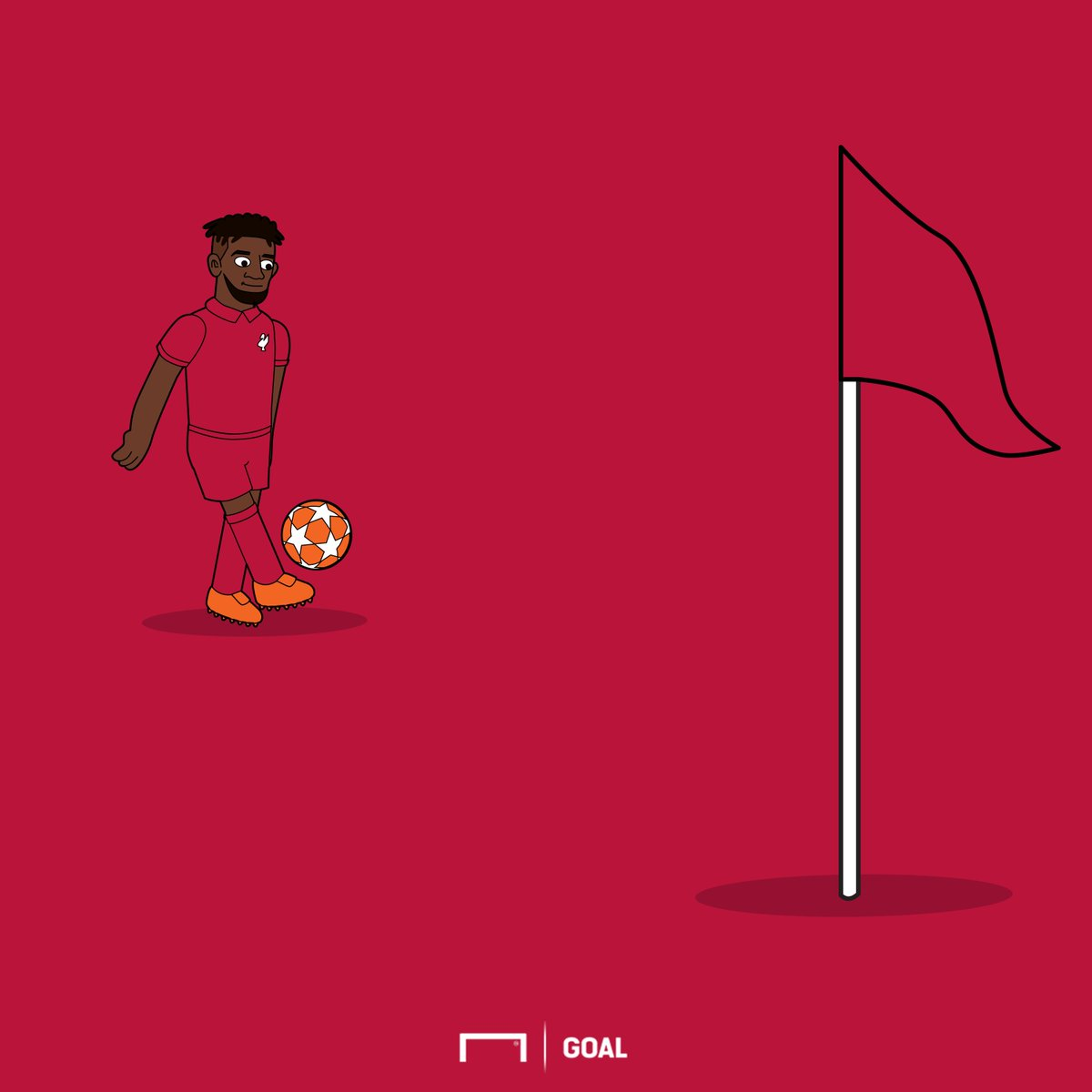 Exactly a year since Trent Alexander-Arnold and Divock Origi combined to stun Barcelona 😲