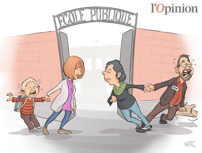 HUMOUR : Les incertitudes du déconfinement et de la rentrée scolaire des enfants le 11 mai 2020 ? (Images) EXZbJtTXYAEHC6w?format=jpg&name=small