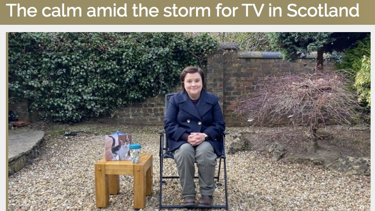 Check out this month's edition of @RTS_media Television Magasine featuring @SusanCalman #sociallydistant with @redskytweets. https://t.co/75v1XLclVN Final episode 20.30 tonight @BBCScotland or catchup on @BBCiPlayer https://t.co/hpQud2F0oE