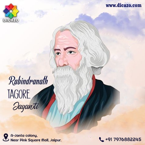 DICAZO wishes you a very Happy Rabindranath Tagore Jayanti!!! . . . #dicazo #dicazoinstitute #Rabindranath #RabindranathTagore #RabindranathTagorejayanti #AsianNobel #Nobelprice #Nobelpricewinner #icon #poetry #author #books #literature #writing #book #reading #poet #literary https://t.co/zJhl8vT3gW