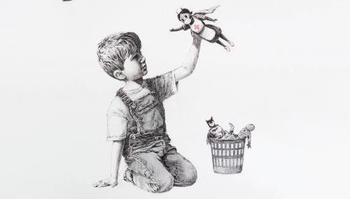 Coronavirus: #Banksy rend hommage aux soignants britanniques dans une nouvelle œuvre https://t.co/8O1A0MLNsc https://t.co/XrfRnIjfRR