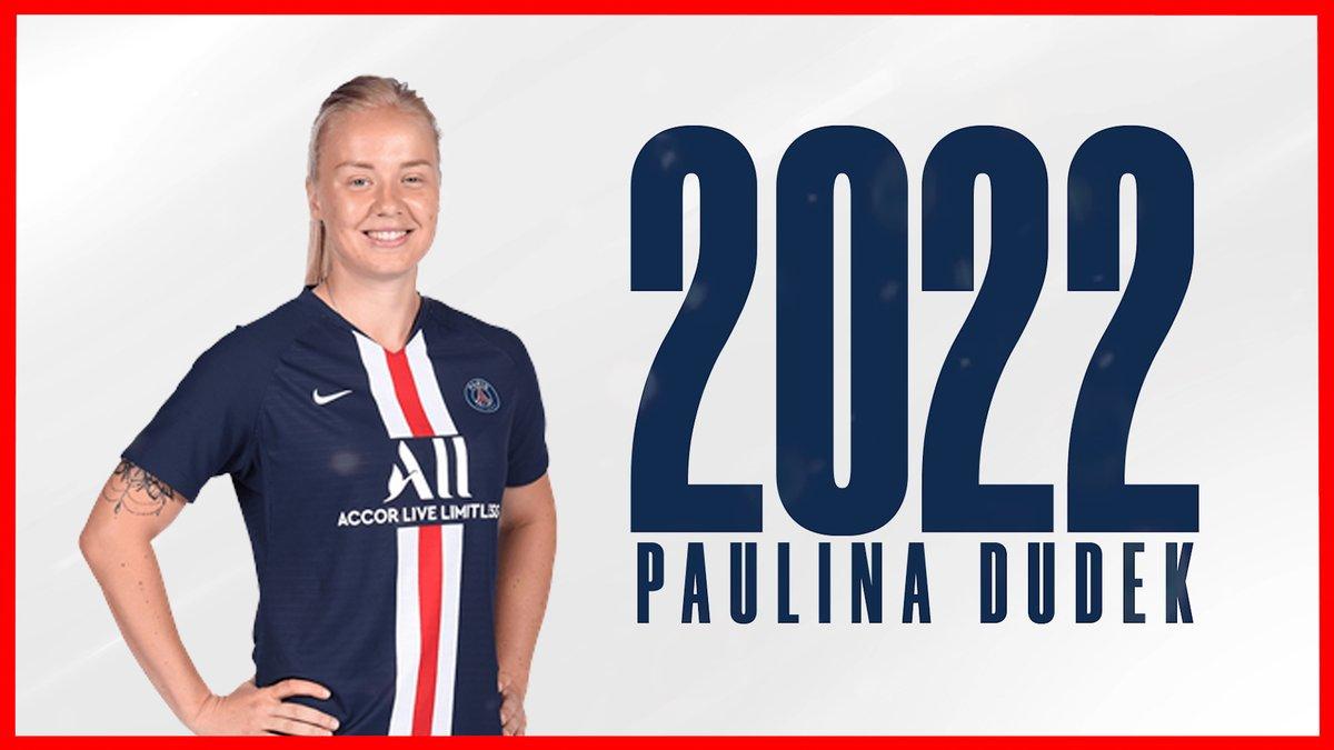 L'aventure continue pour Paulina 🤝 ✍ #Dudek2022