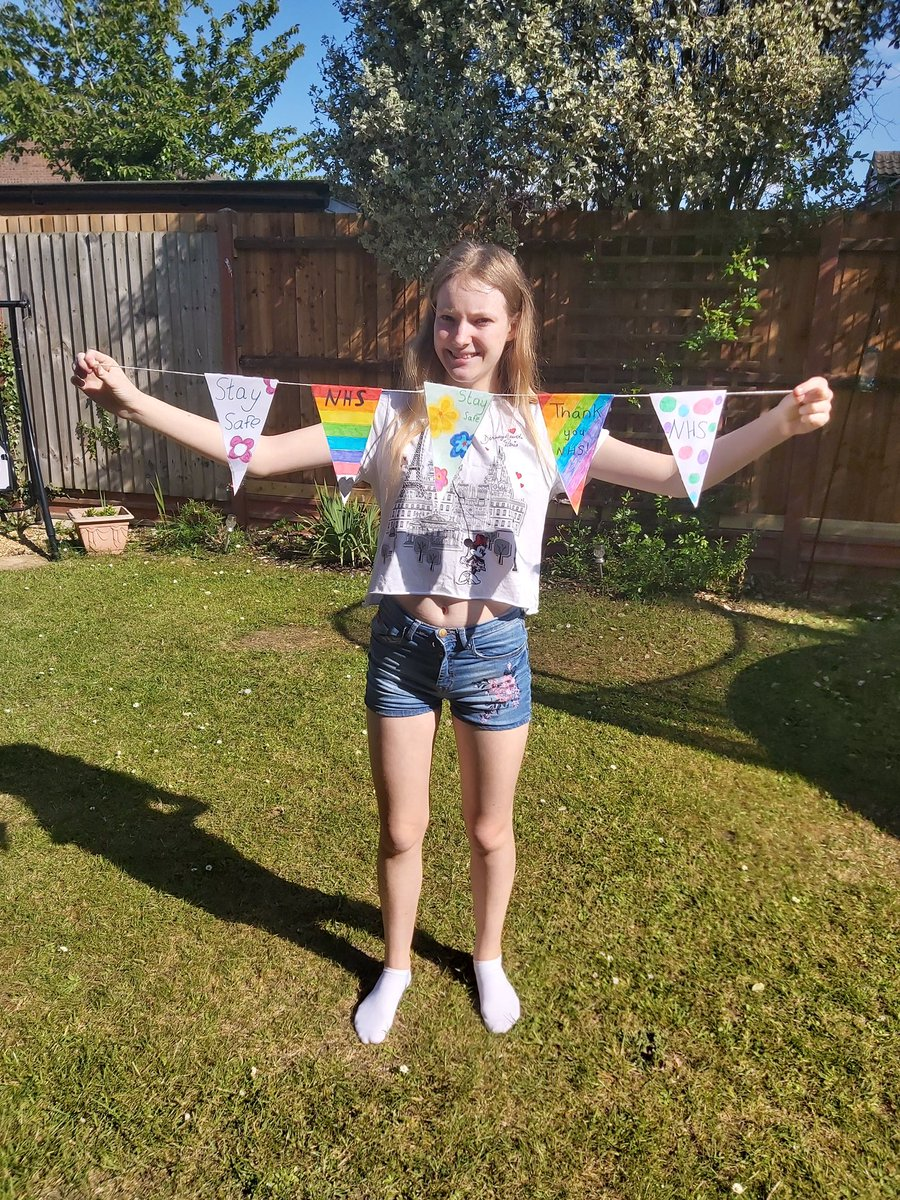 Here's Emily with another example of brilliant VE Day bunting! #LshsExcellence