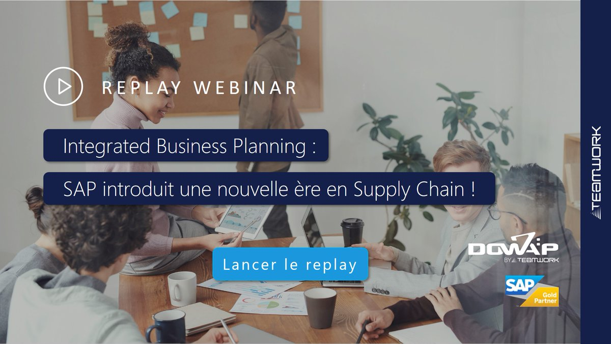 Image for the Tweet beginning: ▶Replay #Webinar Face à tous les