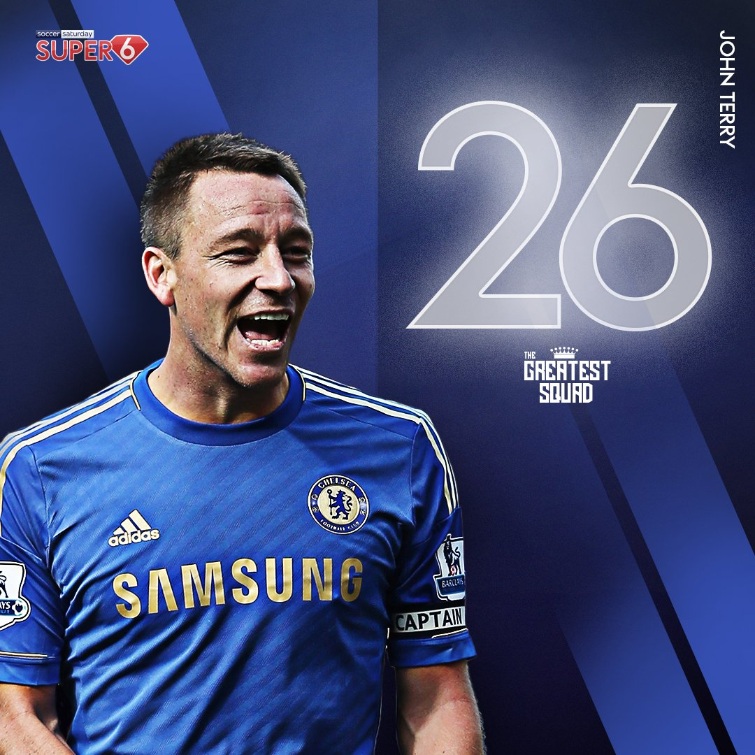 A five-time Premier League winning @ChelseaFC legend... 🔵  John Terry scoops the wildcard pick 👏  #26 has been added to #TheGreatestSquad 👑 https://t.co/lzpNcFZzbk https://t.co/GemHZ0dMtO