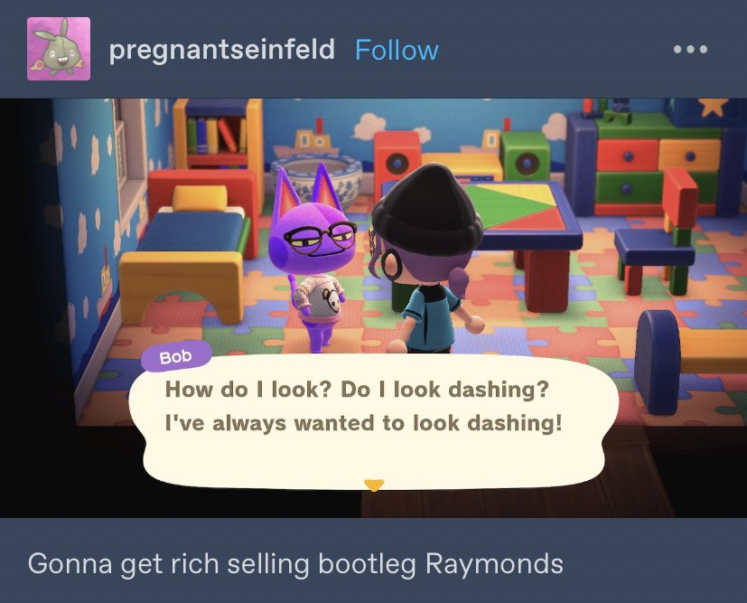 Animal Crossing On Twitter Bootleg Raymond Im Yelling