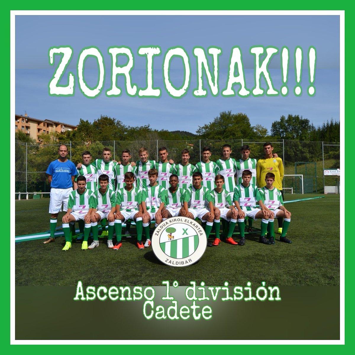 Zorionak equipo https://t.co/f7KkWA3Xde