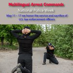Image for the Tweet beginning: National Police Week > May