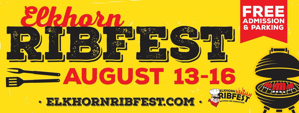 #elkhornribfest2020 #elkhornwi #ribfest #wisconsin #freeadmission #bbqribs #summerfun https://t.co/3aedzv6ydx https://t.co/M7RZowO5ng