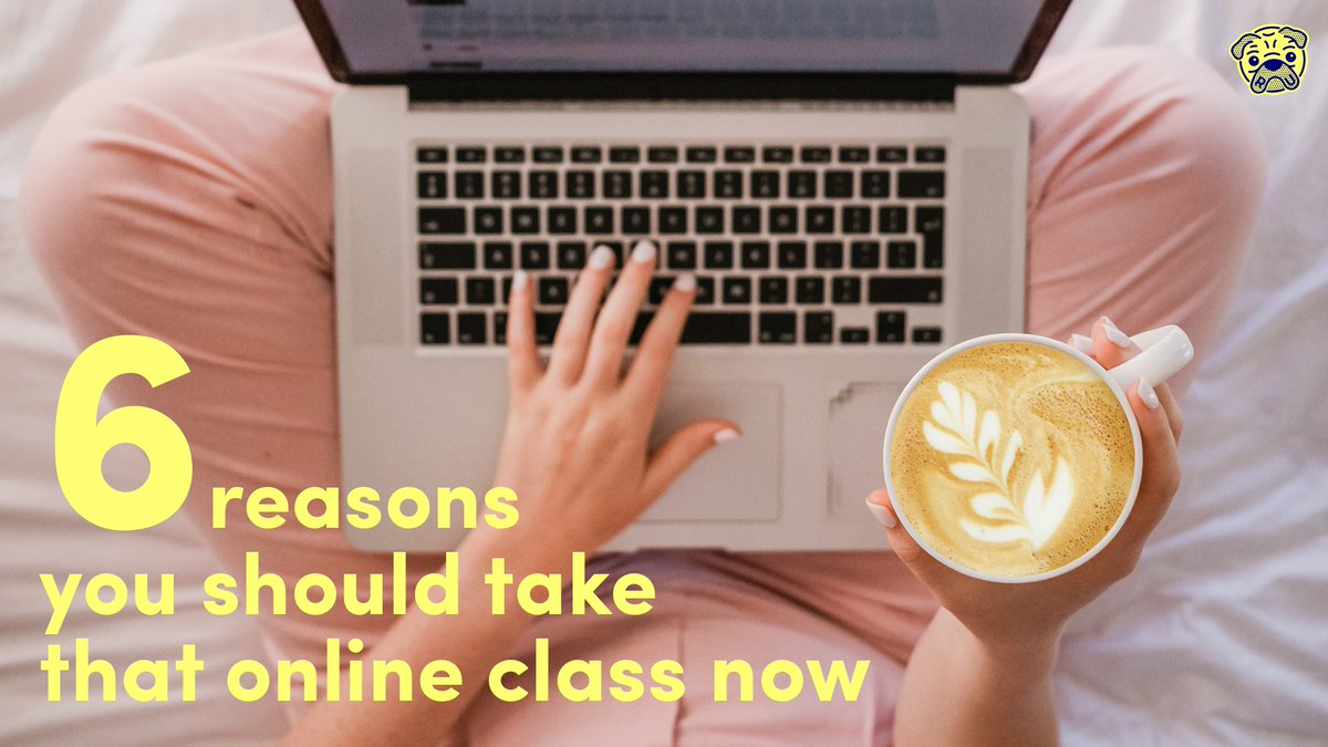 If there's one thing the #rona has taught us all, there's no reason to postpone anything! While we're all stuck indoors, why not make time for some self-improvement?? Now's the time. 6 reasons you should take that online class, now: fal.cn/384WH