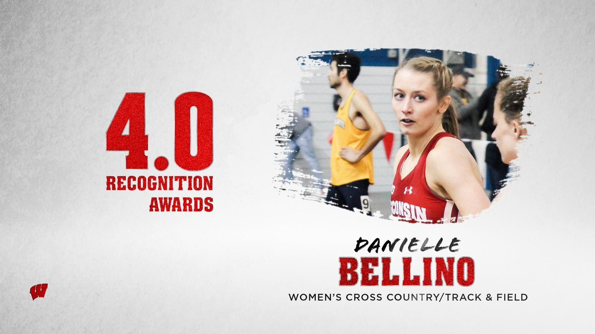 𝐅𝐨𝐫𝐞𝐯𝐞𝐫 (𝟒.𝟎)𝐰𝐚𝐫𝐝!  Congratulations Danielle Bellino! Danielle was recognized last night at the Buckinghams for her 4.0 and continual commitment to academics taking home the 4.0 Recognition Award along with 4 other Student Athletes #OnWisconsin https://t.co/PxbXNclpkH