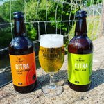 Image for the Tweet beginning: Citra and Citra Grapefruit bottles