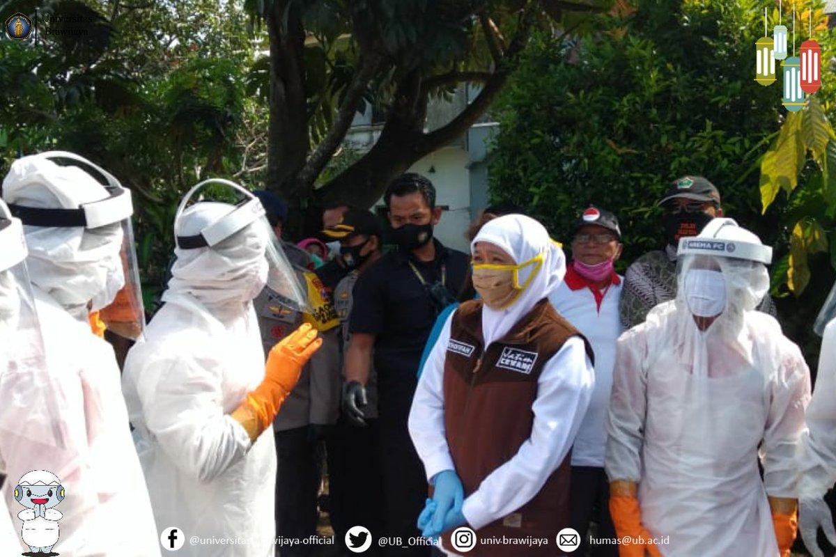 Pagi tadi, Gubernur Jawa Timur, Ibu Khofifah Indar Parawansa melakukan kunjungan kerja ke wilayah Malang Raya. Kunjungan ini dilakukan dalam rangka memastikan kesiapan wilayah dalam melaksanakan Pembatasan Sosial Berskala Besar dalam waktu dekat. 