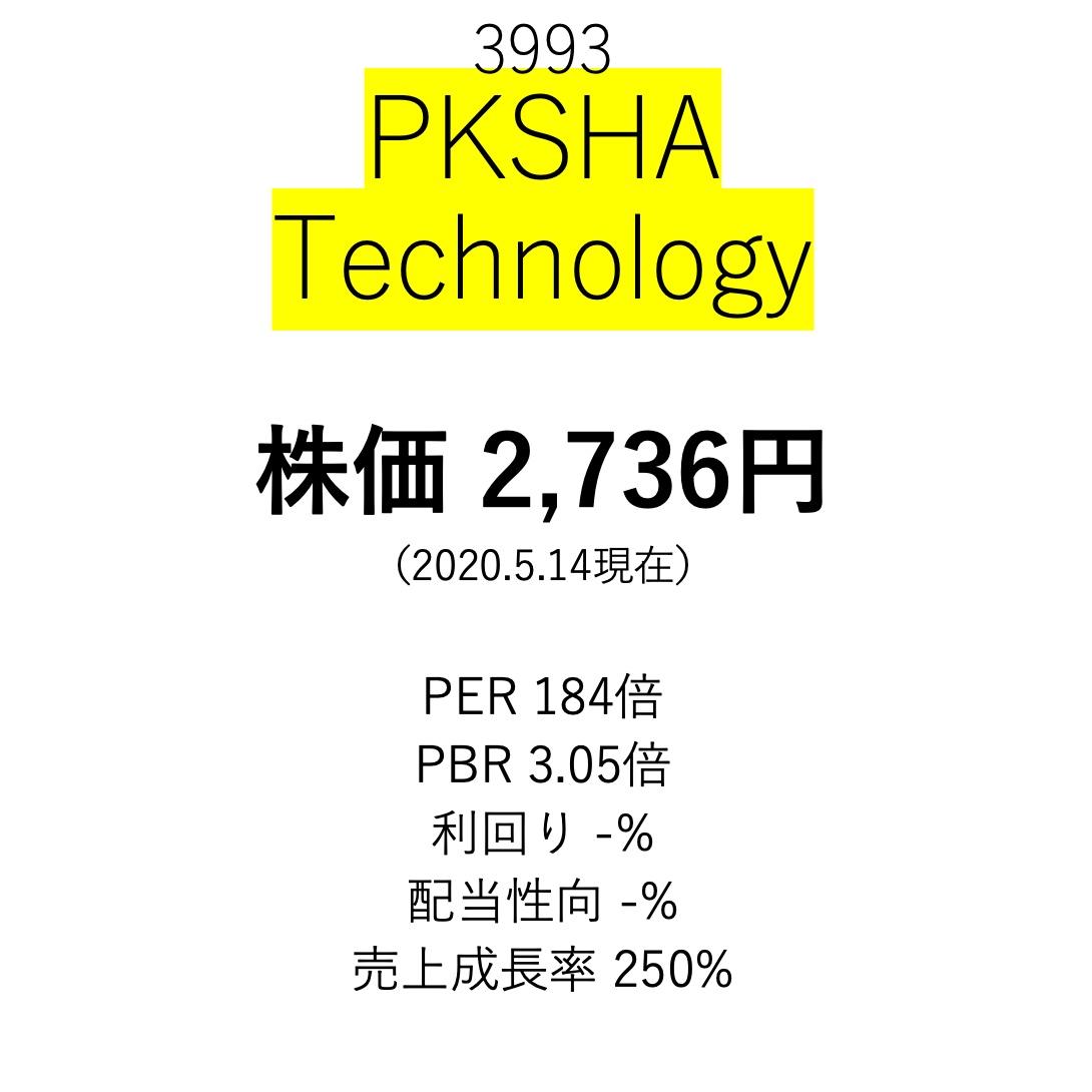 株価 パーク シャ テクノロジー