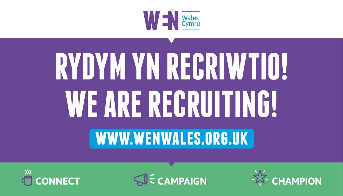 Rydym yn recriwtio! /We are recruiting! - mailchi.mp/64e5211491f3/r…