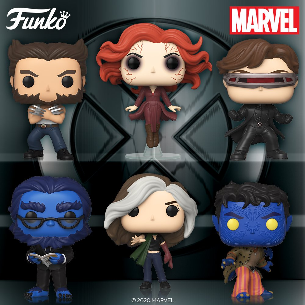X-Men Pop Figures