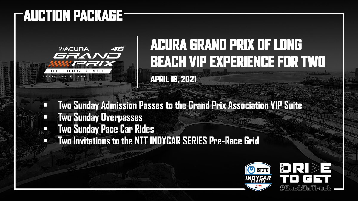 Win an Acura Grand Prix VIP Experience for 2 in @IndyCars auction to support non-profits on the front lines of the COVID-19 fight. indycar.com/2020/Back-On-T… #AGPLB #BackOnTrack
