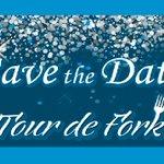 Image for the Tweet beginning: Tour De Fork event for
