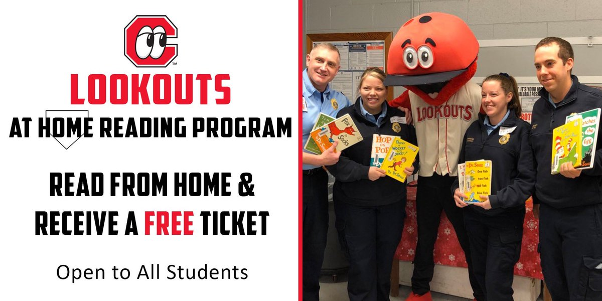 Looking for a summer reading program for your kid? Check out the Lookouts At Home Reading Program. Read for 15 minutes a day for 4 weeks they get a FREE Lookouts ticket when we're back in action. Details + Sign Up ➡️ atmilb.com/3c6IZ0n