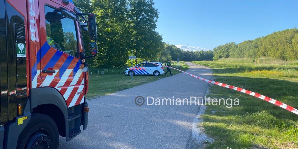 Melding brandweer Botterweg Almere