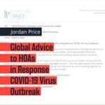 Image for the Tweet beginning: Jordan Price's association attorneys share