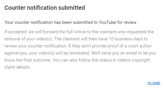 Filed counter claim. Let's see what happens. Naughty dog doesnt own my parody animation. I used 0 of their copyrighted material. https://t.co/8w7F1Z4L0J