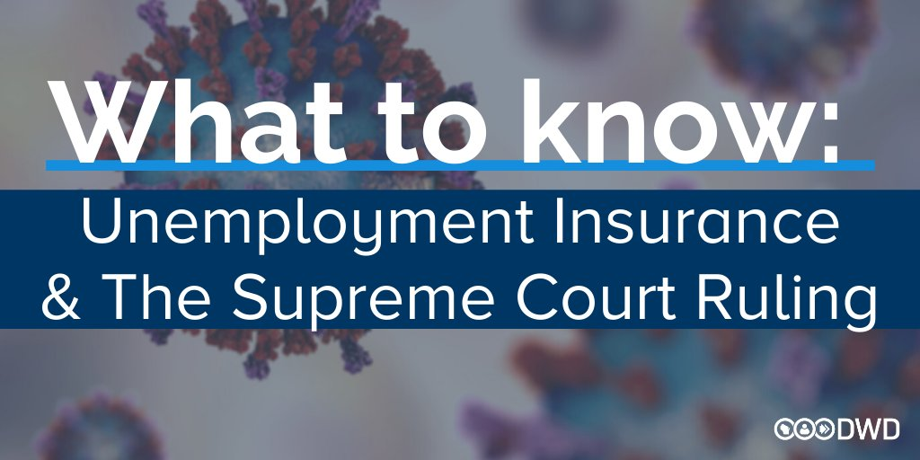 How does yesterday's State Supreme Court ruling on #SaferAtHome impact my #unemployment? (1/6)