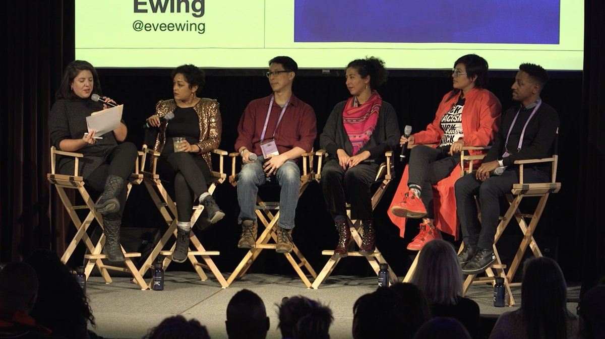 """This winter at @sundancefest, we hosted a panel on """"Editing History"""".   Read @contextmessage's reflections: https://www.macfound.org/press/perspectives/sundance-film-festival-panel-editing-history/…pic.twitter.com/TlmfnF23vk"""