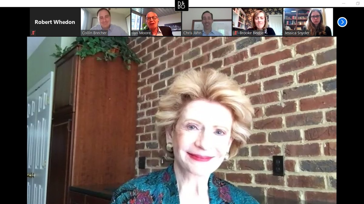 Great virtual roundtable today with @SenStabenow! The senator gave us an update on congressional efforts to organize nationwide strategies to combat #COVID19 while member companies updated her on their efforts to keep their employees and communities safe. https://t.co/7jcoP3TrCb