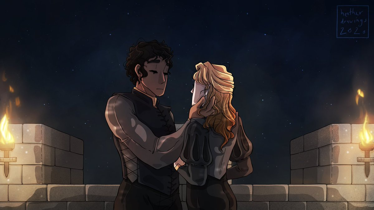 Truly one of the most beautiful scenes in the series. I'll always have such a deep love for Prince's Gambit. #captiveprince #art #digitalart #illustration #lamen pic.twitter.com/uJbbZATZFg