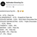 Image for the Tweet beginning: The weekend pouring list... 🍺☀️😊    @BarnsleyCAMRA
