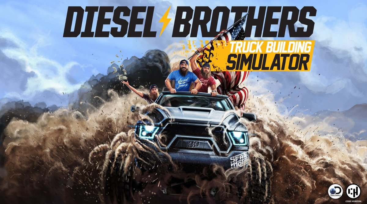 Welcome to Diesel Brothers: Truck Building Simulator (@DieselBrosGame) on our partners' stores! https://t.co/yKGPnsLvjz