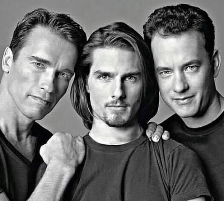 Outstanding On Twitter Arnold Schwarzenegger Tom Cruise Y Tom Hanks Arnoldschwazenegger Tomcruise Tomhanks
