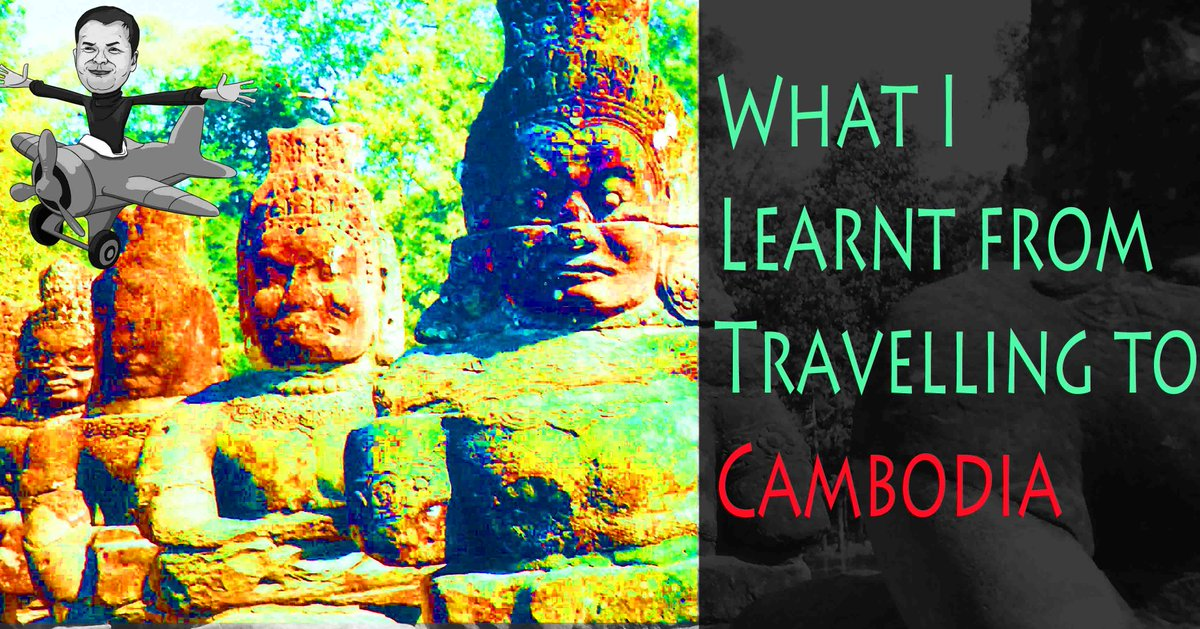 #Travel equals experiences, but also lessons too!  What I learned from travel to #Cambodia https://t.co/ZBMYtfK7zi   #travelblog #RT #worldtravel https://t.co/ZTAPpQ0F2e
