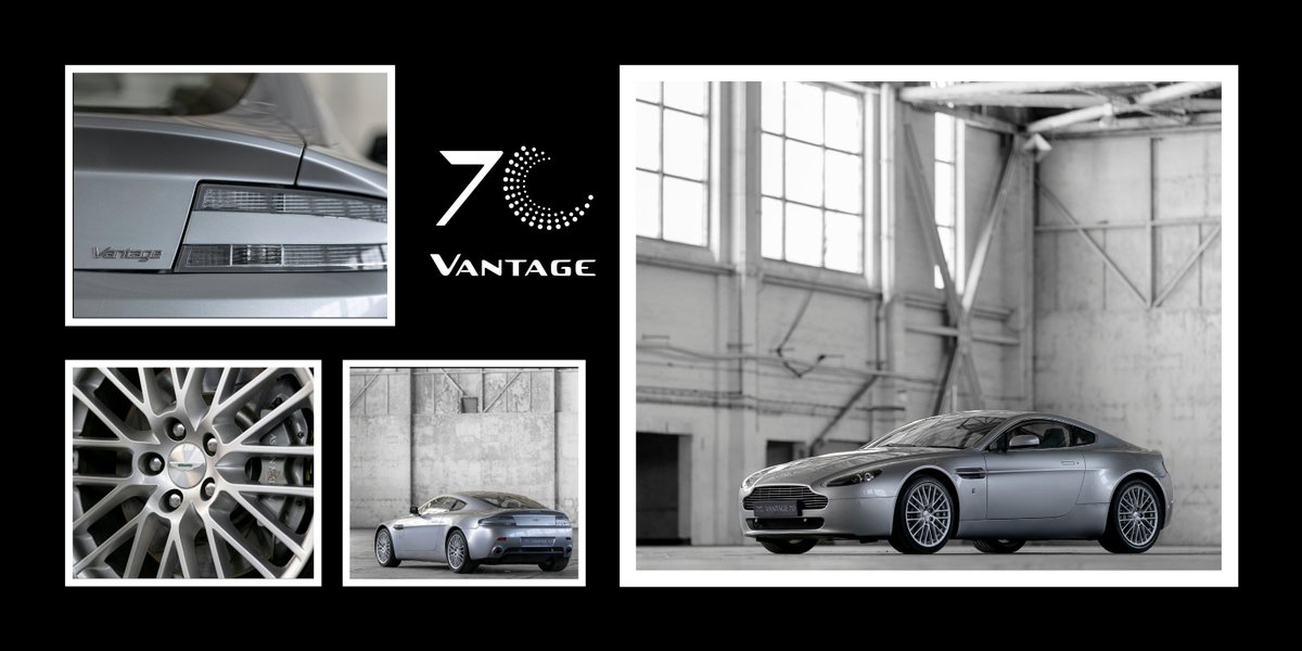 Aston Martin On Twitter In 2005 We Launched A New V8 Vantage Built On The Now Famous Vh Architecture Its Engine Was Unique To Aston Martin And Was Hand Built Alongside The V12