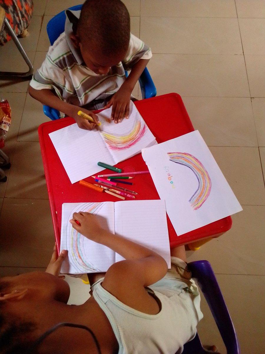 @TheWorldsLesson G-SHAPERS organized a Virtual Creative Corner for Children via Zoom.