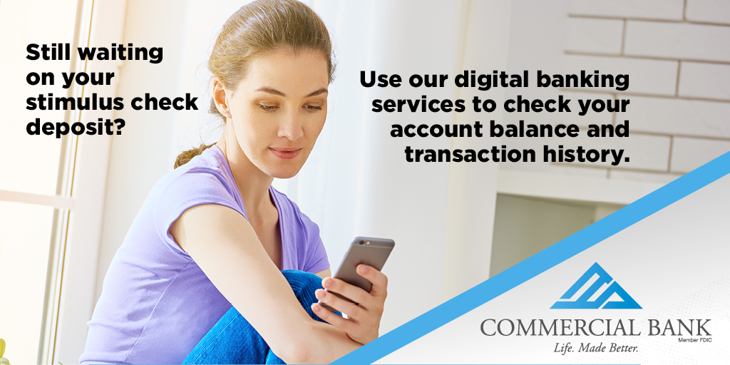 Check your balance, review transaction history, receive alerts, and more - all from a computer or mobile device - at any time of day! Visit https://t.co/segGJiMP7M to learn more. Let us find a service that works for you! #LifeMadeBetter #anytimeanywhere https://t.co/VZ8a1vu3xt