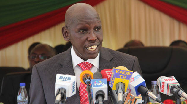Early learning and Basic Education Principal Secretary Dr. Belio Kipsang. He has instructed County Directors of Education to collate data on all school buses and submit the same to 'Jogoo House' by May 17, 2020.