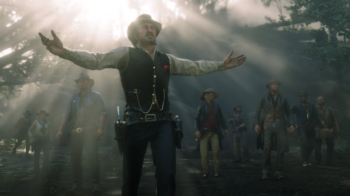 """Xbox on Twitter: """"The gang's all here. Red Dead Redemption 2 is available  today with @XboxGamePass!… """""""