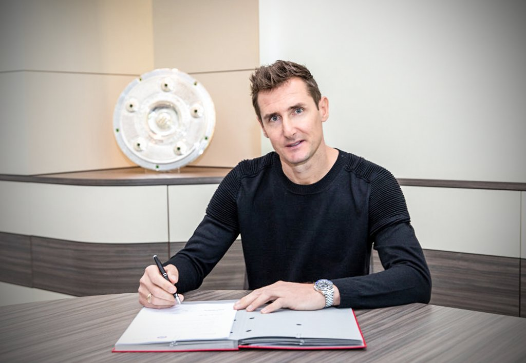 OFFICIAL: Germany and Bayern legend Miroslav Klose will be Bayern's assistant coach ✍️ https://t.co/a6VNvO79Tk