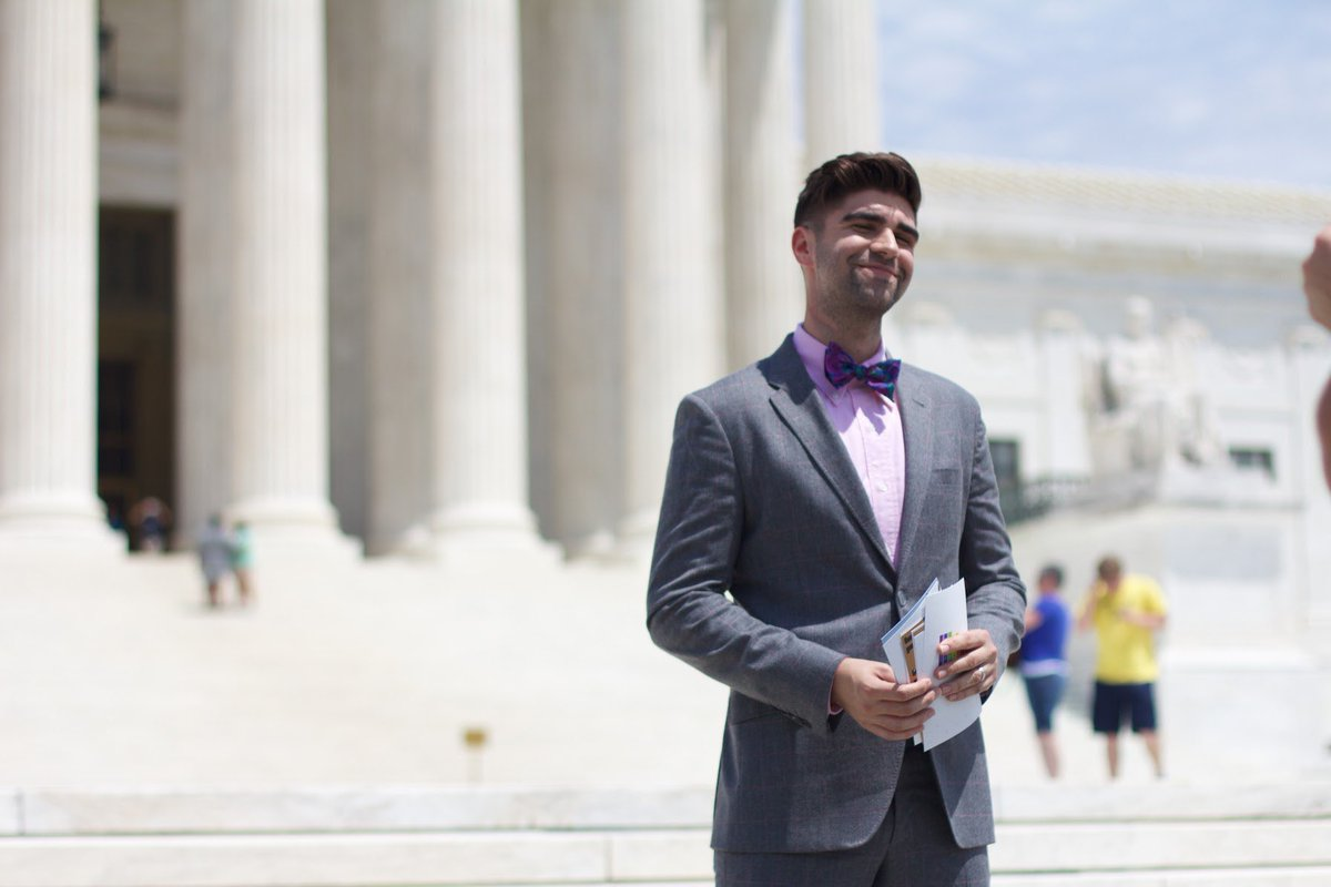 #tbt to marriage equality oral arguments five years ago at the Supreme Court #lovewins #loveisthelaw @JustinMikita