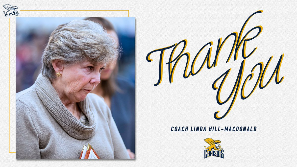 NEWS   #Griffs assistant and longtime women's basketball coach Linda Hill-MacDonald retires after more than 40 years of coaching.   Congratulations on a terrific career, and thank you for your guidance these last two seasons!  🗞: https://t.co/HxCjT9Xp5D   #MAACHoops #ncaaW https://t.co/QTOoNto3MN