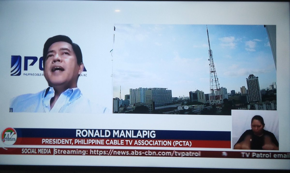 @ABSCBNNews Thank you TV Patrol.