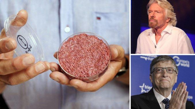You know who the top investors in the 'impossible meat' is? Richard Branson Bill gates