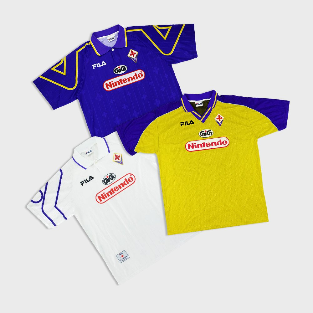 Classic Football Shirts On Twitter Fiorentina X Nintendo X Fila A Great Combination