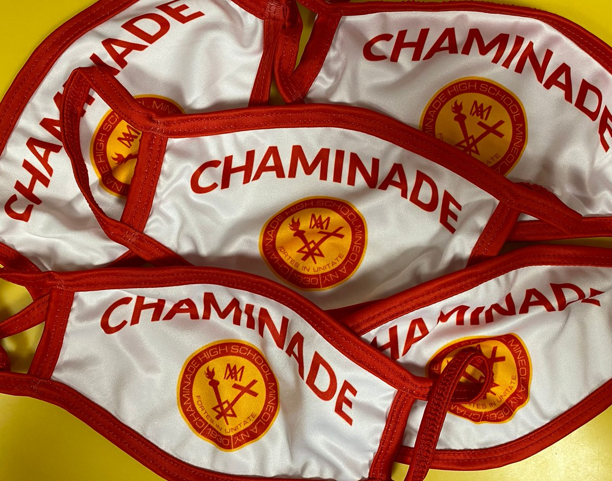 "Chaminade HS on Twitter: ""Custom Chaminade face masks are now ..."