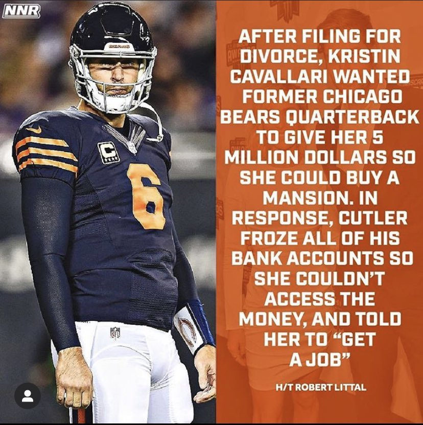 I want to buy a Jay Cutler jersey now