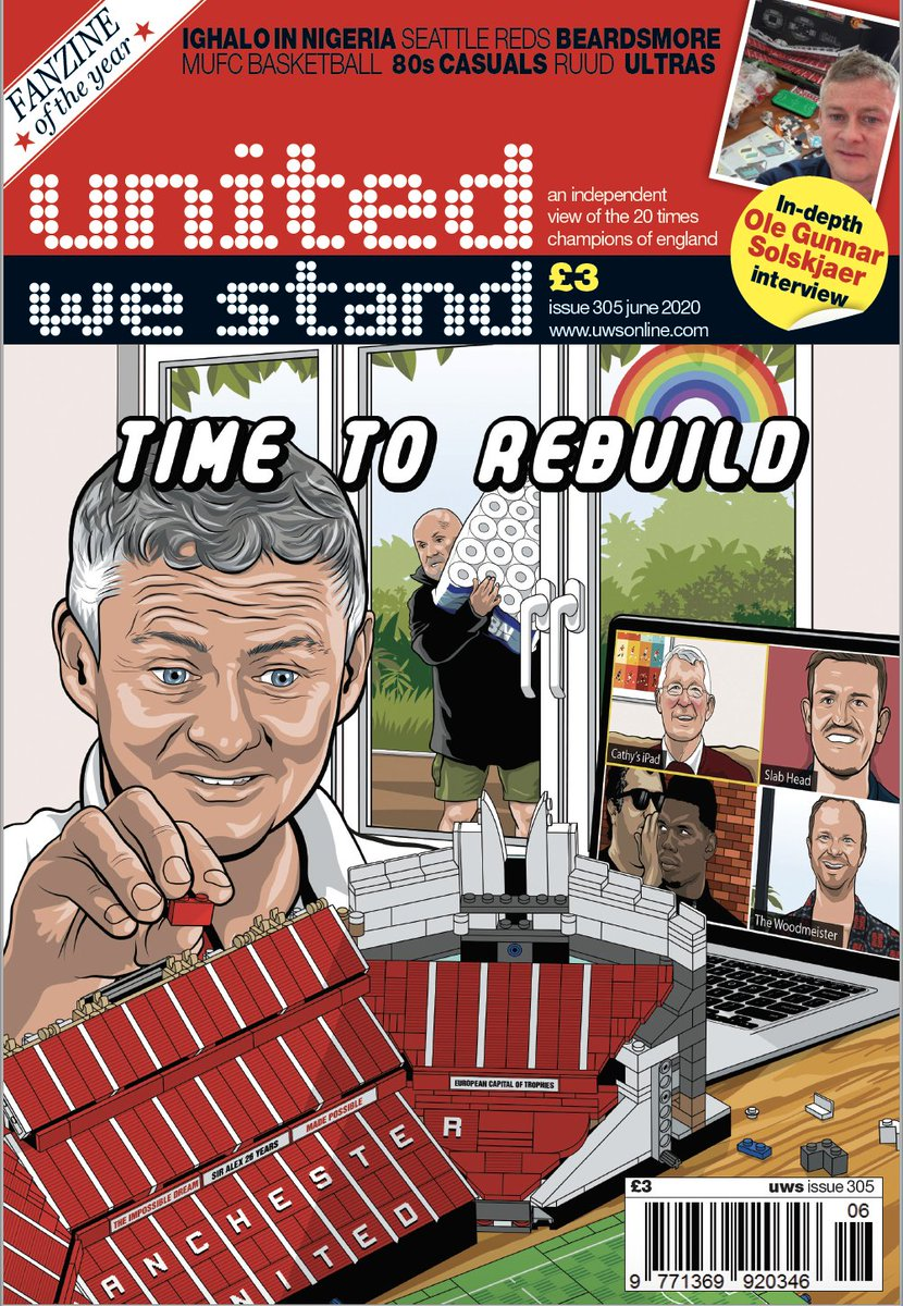 You supported us enough to do another UWS. Out 20/5. Free copies to over 70s & frontline health workers who didn't get 304. No games to sell at - we post out. Paypal £3.99 inc p&p to uwsmag@yahoo.co.uk (£5.49 ROI/Europe. £5.99 ROW) Or subscribe by 13/5  1/3