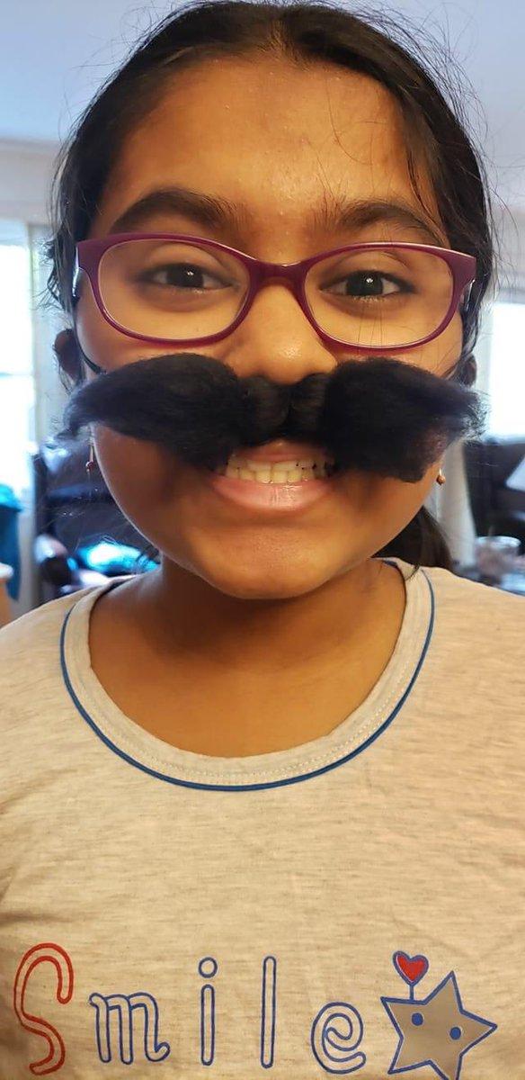 #mustache #virtualspiritday