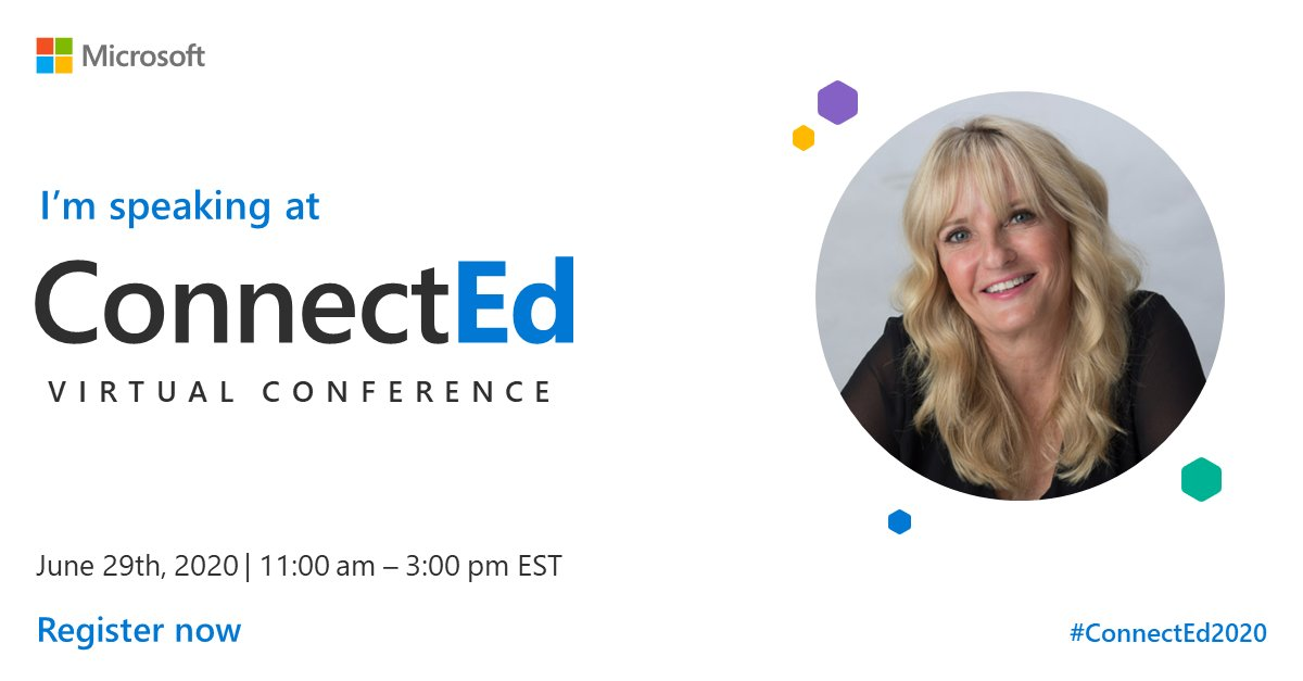 I cant fly to Canada right now...but I can present there! Join me at the ConnectEd Virtual Conference on June 29th, a special global moment for educators, by educators. Register for free: aka.ms/ConnectEd #ConnectEd2020 #ConnectEd2020 @MicrosoftEDUCA and @MicrosoftEDU